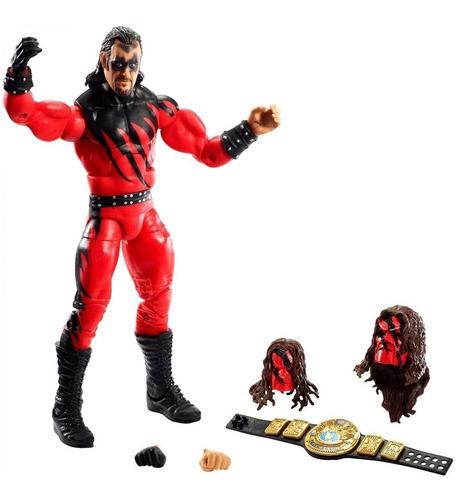 Imagen 1 de 5 de Wwe Figura Del Undertaker Serie Elite Exclusivo Mattel