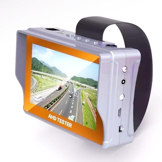 Testador Câmeras Convencional 4,3 Analogica 1080 Cftv Cl46