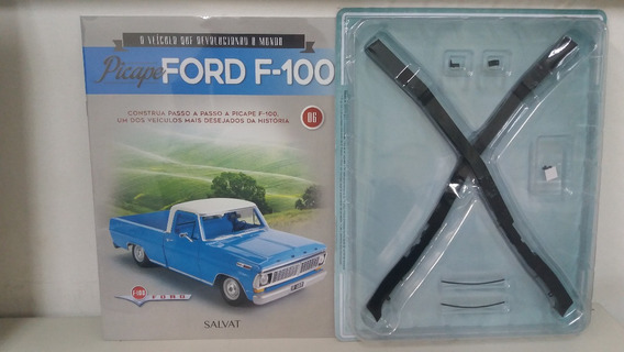 Fascículo Nº 6 Pick Up Ford F 100 Escala 1:8 Salvat