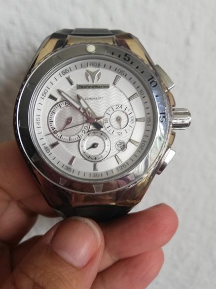 Reloj Technomarine Cruise Original Plata Negro