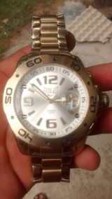 Relógio Everlast Modelo E437 Gold Masculino