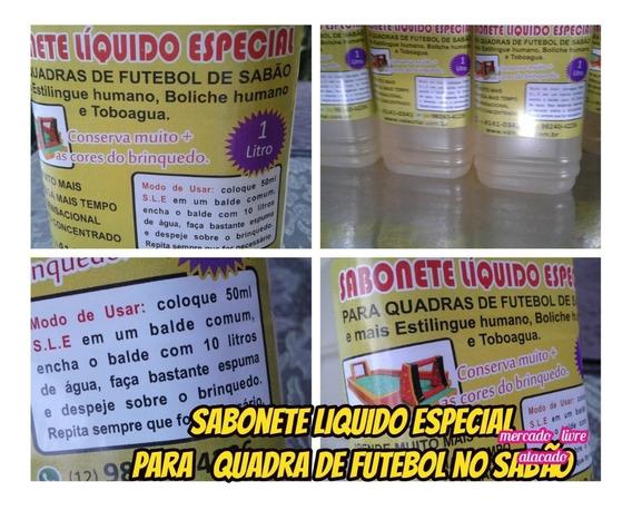 Sabonete Liquido Para Quadra De Fut.sabão Kit C/05lts+brinde