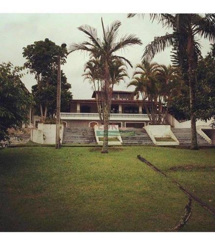 Imagem 1 de 23 de Chácara Com 6 Dormitórios À Venda, 2500 M² Por R$ 2.300.000,00 - Estância Guararema - Guararema/sp - Ch0166
