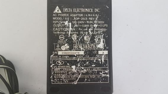 Fonte Carregador Notebook Delta Eletronics Adp-20lb Usado
