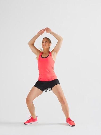Musculosa Domyos Decathlon Talle S Rosa Fluo Fucsia Deporte