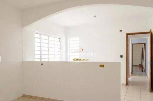 Imagem 1 de 21 de Sobrado Com 3 Dormitórios, 193 M² - Venda Por R$ 750.000,00 Ou Aluguel Por R$ 3.700,00/mês - Jardim - Santo André/sp - So1486
