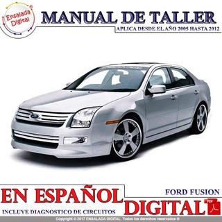 Manual Automotriz Ford Fusion 06-09 Taller Diagramas Español
