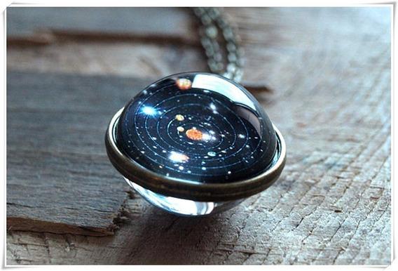 Collar Del Sistema Solar Especial Encapsulado