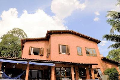 Casa Maravilhosa, Natureza Exuberante, Excelente Localidade, Alto Padrão, Venda E Locação - Granja Carneiro Viana - Cotia/sp - Ca2761