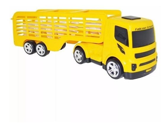 Caminhão De Boi Brinquedo Plástico