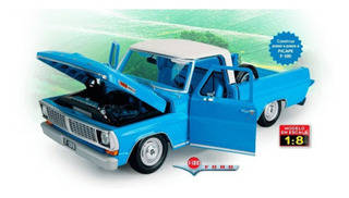 Ford F100 Miniatura Escala 1/8 Fascículo 1 A 7 Lacrado S/uso