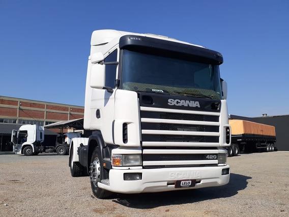 Scania 124/420 4x2 Toco Ano 2001 Lindo Sem Detalhes