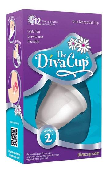 Copa Menstrual The Diva Cup Reusable Modelo 2 + Envío Gratis