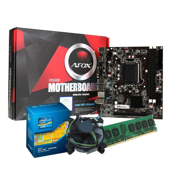 Kit Upgrade Core I5 + Placa Mãe Lga 1155 + 4gb Ddr3 Novo