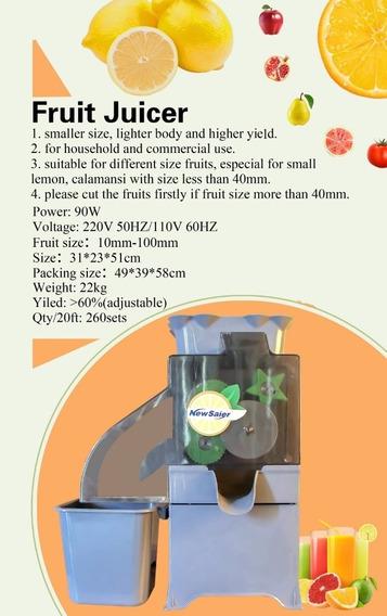 Exprimidor Naranjas Y Limon Pulpa Jugos Automatica Electrica