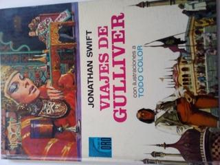 Los Viajes De Gulliver Ilustrado Palma De Oro 1974 Bruguera