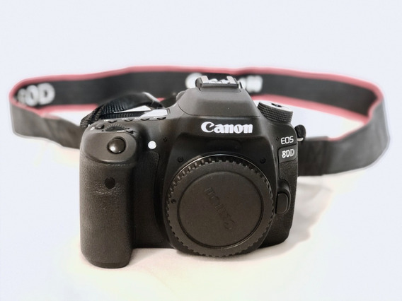Canon Eos 80d Em Estado De Nova - Só O Corpo