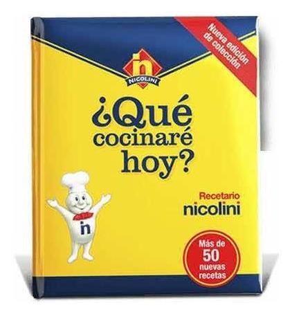Imagen 1 de 4 de Nicolini Que Cocinare Hoy