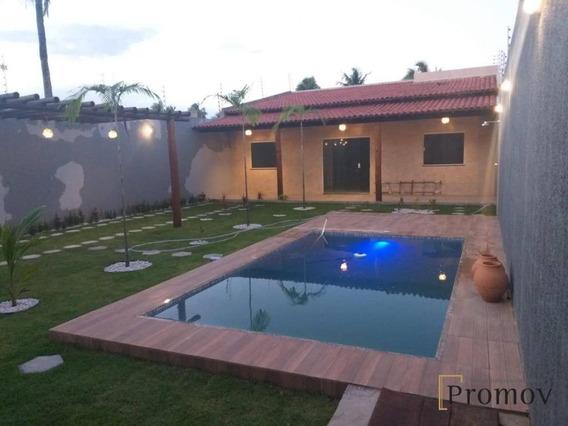 Casa Com 2 Dormitórios À Venda, 90 M² Por R$ 300.000 - Mosqueiro - Aracaju/se - Ca0554