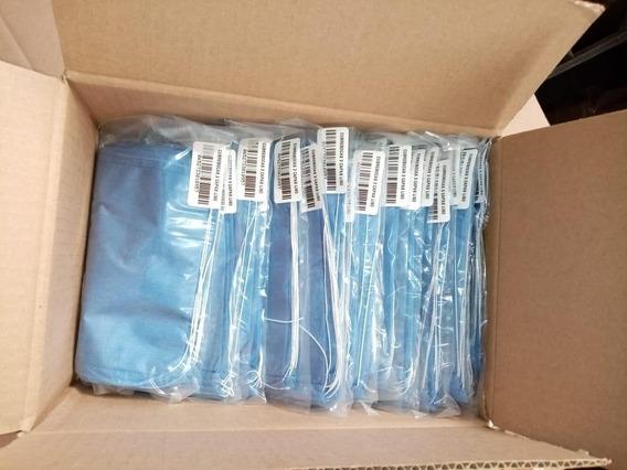 Cubrebocas Tricapa Liso - Paquete De 100 Piezas