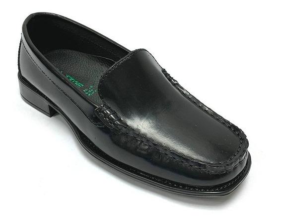 Zapatos Mocasines Full Time Dama Negro Ft 0102 Corpez 35