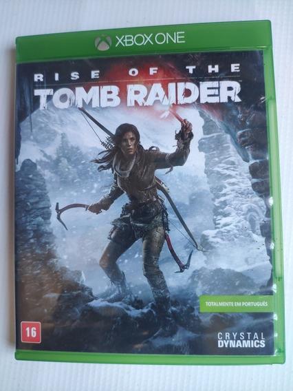 Rise Of The Tomb Raider Midia Física Semi Novo