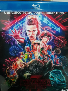 Blu-ray Stranger Things 1º,2º,3º Temp... Completa Dual Audio