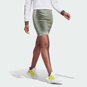 Falda adidas Originals Corte Alto Pencil Skirt 3 Stripes