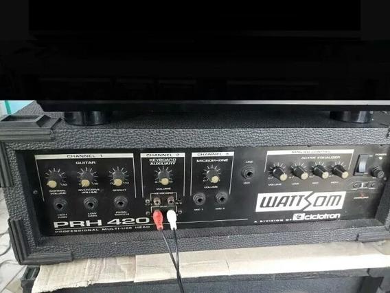 Amplificador Wattsom Bk1500 Promoção Barato 990 Reais