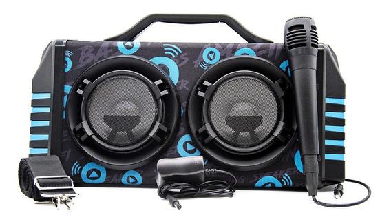 Caixa De Som Bluetooth Portátil Com 30w Rms Total Subwoofer
