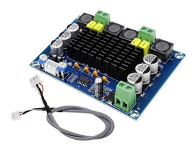Placa Amplificador Potência De Áudio Estéreo Digital 2x120 W