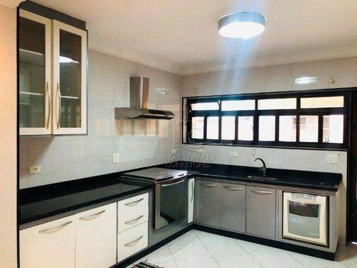 Imagem 1 de 20 de Sobrado Com 3 Dormitórios À Venda, 216 M² Por R$ 720.000,00 - Vila São Pedro - Santo André/sp - So4226