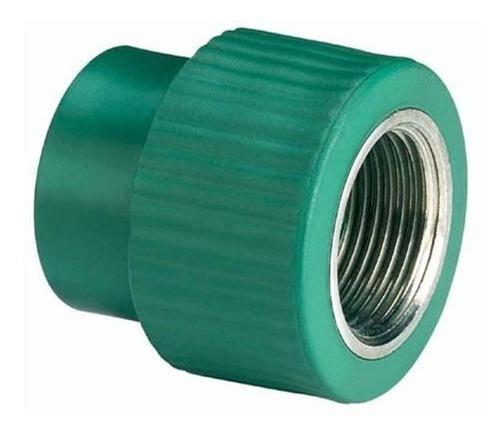 Conector Hembra Tuboplus 200041 De 25 X 1/2 Verde