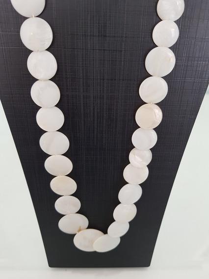 Colar White Stone