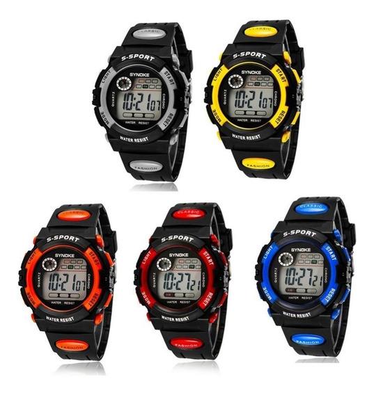 Relógio Masculino Synoke Digital Cronômetro Alarme