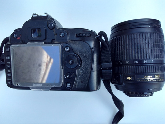 Promoção Nikon D90 Brinde Lente 18x105 Leia Descrição
