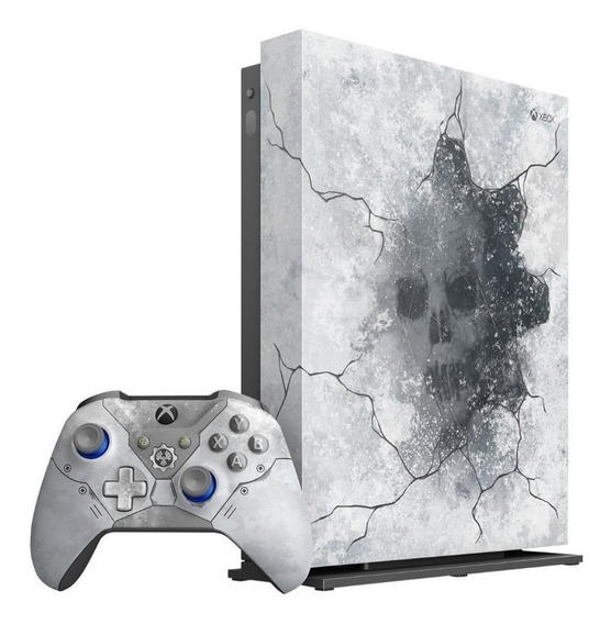Microsoft Xbox One X 1TB Gears 5 Limited Edition artic blue