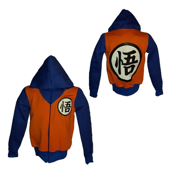 Sudadera Cosplay Dragon Ball Goku
