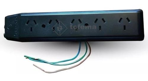 Imagen 1 de 2 de Prolongador Zapatilla 5 Tomas Sin Cable - Cambre - Tofema