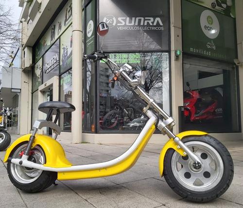 Moto Spy Chopper 1000w Eléctrica Okm  Movilidad Ecológica V