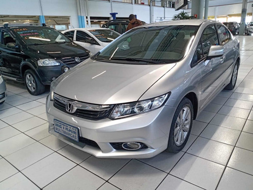 Imagem 1 de 9 de Honda Civic 2014 2.0 Lxr Flex Aut. 4p