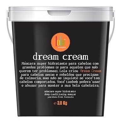 Máscara Dream Cream 3kg Lola Cosmetics