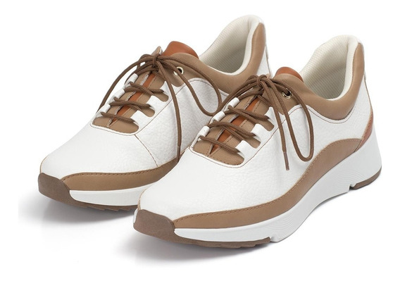 Tênis Calçado Piccadilly Anabela Sapato Branco Lançamento