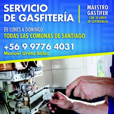 Maestro Gasfiter De Lun A Dom Todas Las Comunas De Santiago