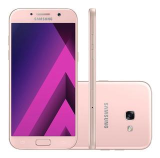 Samsung Galaxy A5 A520f 64gb 3gb Ram 16mp Rosa Vitrine 2