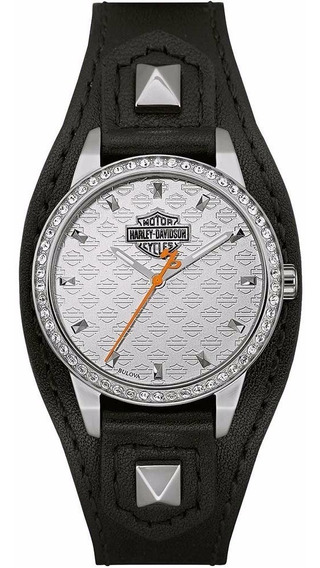 Reloj Harley Davidson Shape Cuff 76l183 Original E-watch