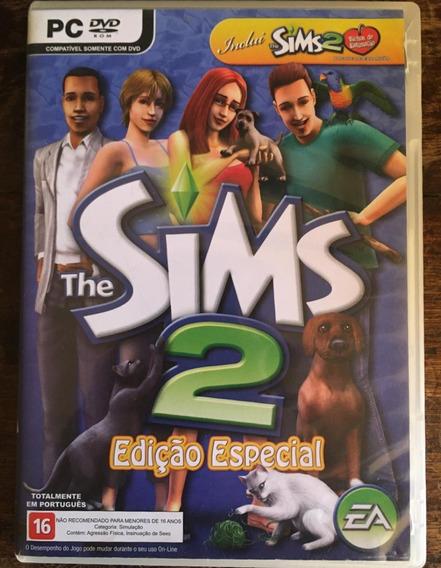 Dvds The Sims 2: Edição Especial- Pacote Bichos De Estimação