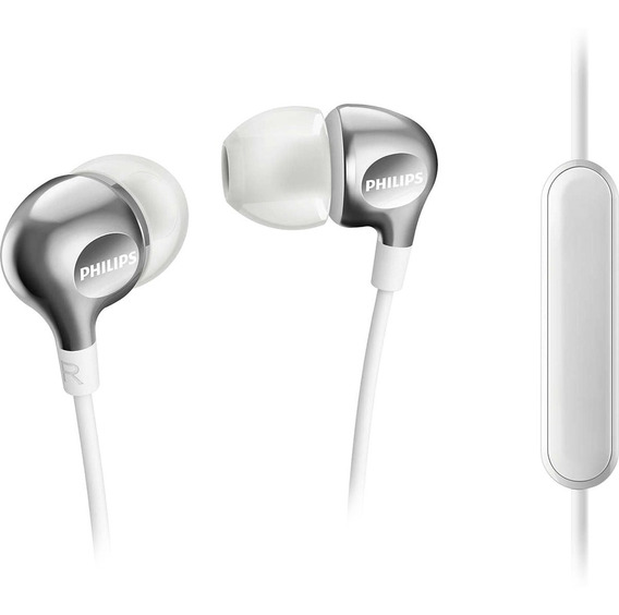 Fone Com Microfone Intra-auricular She3705wt/00 Philips