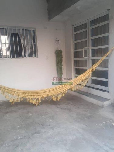 Imagem 1 de 13 de Casa Com 4 Dormitórios À Venda, 140 M² Por R$ 277.000 - Parque Residencial Casa Branca - Suzano/sp - Ca4487