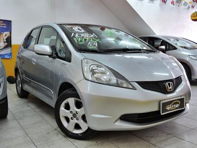 Honda Fit Lxl 1.4 Automático Flex Completo Financia E Troca